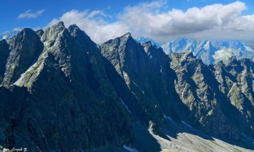 Zdjecie SłOWACJA / Lodowa Przełęcz 2372 m. / Lodowa Przełęcz 2372 m. / Jaworowe Turnie.