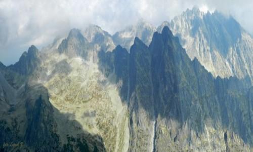 Zdjecie SłOWACJA / Wysokie Tatry. / Sławkowski Szczyt 2452 m. / Panorama ze Sławkowskiego Szczytu 2452 m.-1.