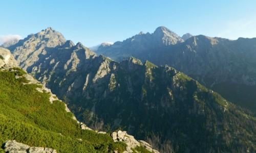 Zdjecie SłOWACJA / Wysokie Tatry. / Szlak na Sławkowski Szczyt wys. ponad 2000 m. / Ze szlaku na Sławkowski Szczyt 2452 m.