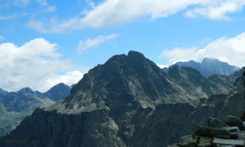 Zdjecie SłOWACJA / Wysokie Tatry. / Przełęcz Waga (Waha).2337 m. / Widok z Przełęczy Waga (Waha).