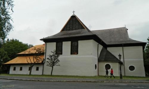 Zdjecie SłOWACJA / Spisz. / Kieżmark. / Kieżmark - Stary kościół ewangelicki (artykularny).