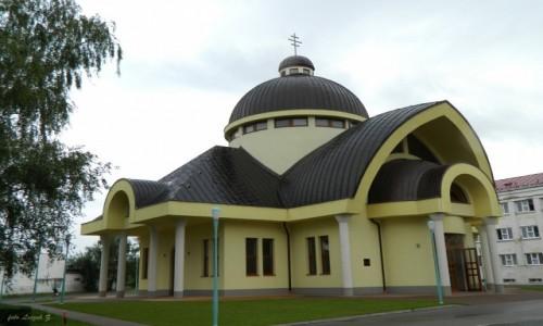 Zdjecie SłOWACJA / Spisz. / Kieżmark. / Kieżmark - Cerkiew greckokatolicka Narodzenia Bogurodzicy z 2008 r.