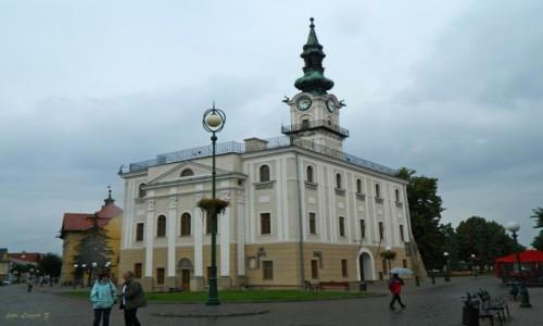 Zdjecie SłOWACJA / Spisz. / Kieżmark. / Kieżmark - Ratusz klasycystyczny.
