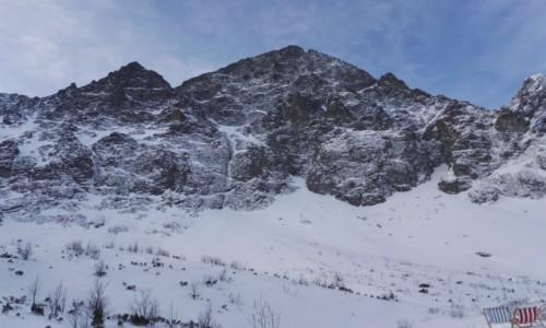 Zdjecie SłOWACJA / Dolina Kiezmarska / polnocna sciana Malego Kiezmarskiego Szczytu / Tatry Wysokie
