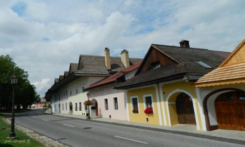 SłOWACJA / Poprad. / Spiska Sobota. / Spiska Sobota - Renesansowe domy mieszczańskie.