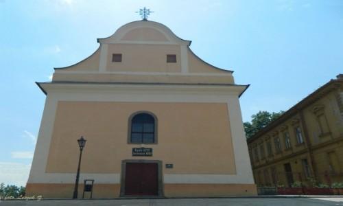 Zdjęcie SłOWACJA / Poprad. / Spiska Sobota. / Spiska Sobota - Kościół Ewangelicki.