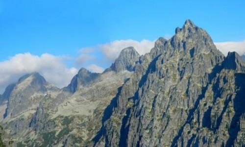 Zdjecie SłOWACJA / Sławkowski Szczyt 2452 m. / Szlak na Sławka. / Ze szlaku na Sławkowski Szczyt 2452 m.