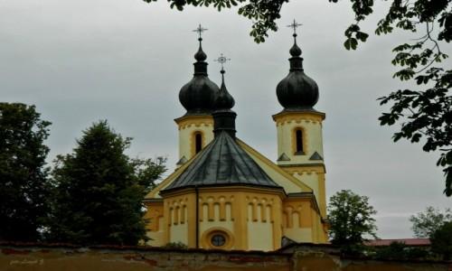 Zdjecie SłOWACJA / kraj preszowski. / Bardejów. / Bardejów - Cerkiew greckokatolicka pw. świętych Piotra i Pawła