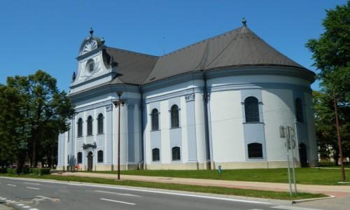 Zdjecie SłOWACJA / kraj koszycki. / Spisz. / Spiska Nowa Wieś - Kościół Ewangelicki (Zbór).