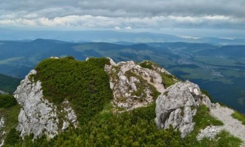 SłOWACJA / tatry zachodnie / siwy wierch  / widok ze Siwego Wierchu