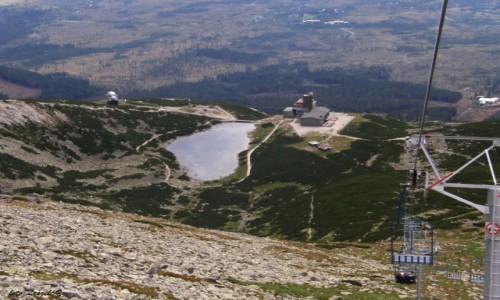 Zdjęcie SłOWACJA / Wysokie Tatry. / Łomnicka Przełęcz / Widok z Łomnickiej Przełęczy.