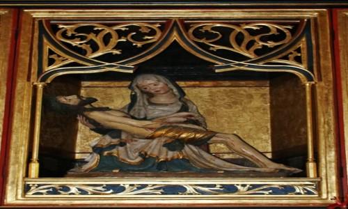 Zdjecie SłOWACJA / - / Bardejów / Kościół św. Idziego. Ołtarz siedmiu boleści Maryi