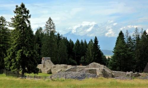 Zdjęcie SłOWACJA / Spisz / Słowacki Raj  / Ruiny klasztoru