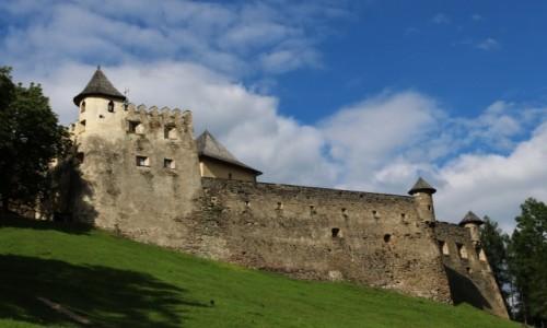 Zdjęcie SłOWACJA / - / Stara Lubownia / Zamek w Starej Lubowni