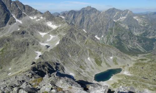Zdjecie SłOWACJA / tatry / mała wysoka / w dole litworowa dolina
