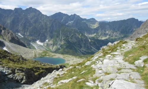 Zdjecie SłOWACJA / tatry / mała wysoka / litworowy staw i góry dookoła :)