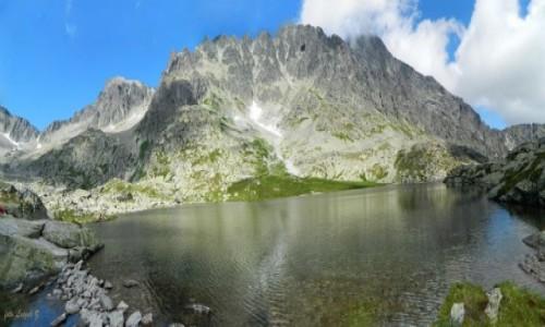 SłOWACJA / Wysokie Tatry. / Dolina Pięciu Stawów Spiskich. / Panorama z Doliny Pięciu Stawów Spiskich.