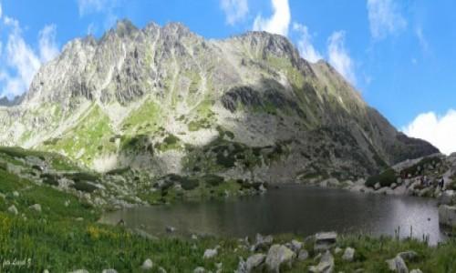 Zdjecie SłOWACJA / Bystra Ławka 2300 m. / Dolina Młynicka. / Panorama - Staw
