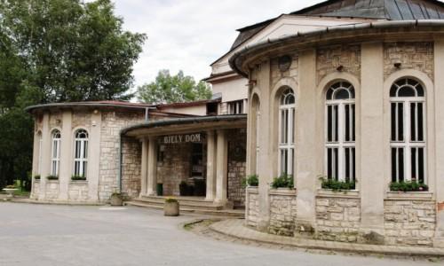 Zdjęcie SłOWACJA / Magura Spiska / Wyżne Rużbachy / Biały dom - główne wejście
