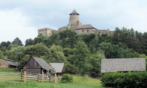 Zdjęcie SłOWACJA / Spisz / Stara Lubownia / Zamek