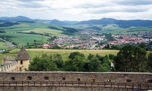 Zdjęcie SłOWACJA / Spisz / Zamek Stara Lubownia / Za murami