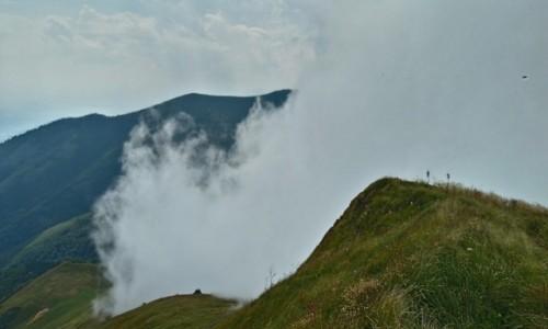 Zdjecie SłOWACJA / mała fatra / Velky Krivań  / niebo...chmury i góry...