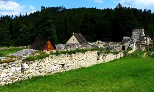 Zdjecie SłOWACJA / Spisz / Słowacki Raj / ruiny klasztoru Kartuzów