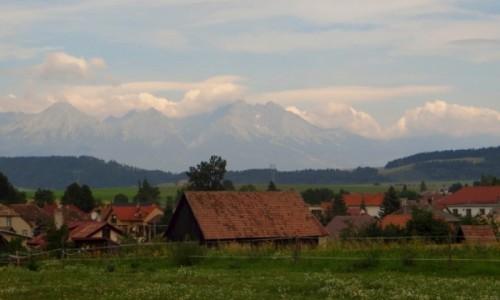 Zdjęcie SłOWACJA / Spisz / Hrabusice / panorama Hrabusic