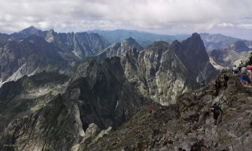 Zdjecie SłOWACJA / Wysokie Tatry. / Rysy 2503 m. / Widok ze Słowackich Rysów 2503 m.
