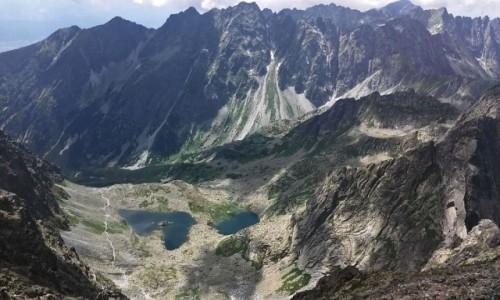Zdjecie SłOWACJA / Wysokie Tatry. / Rysy 2503 m. / Widok z Rysów.