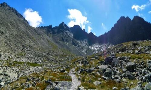 Zdjecie SłOWACJA / Lodowa Przełęcz 2372 m. / Dolina Zadnia Jaworowa. / W Dolinie Zadniej Jaworowej.