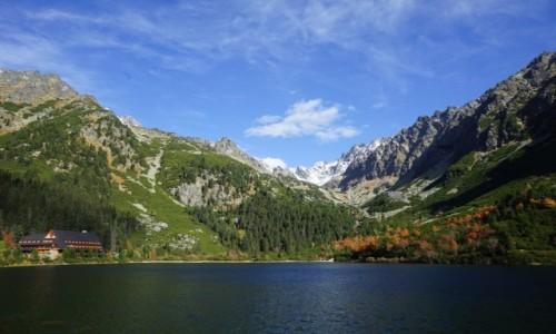 Zdjęcie SłOWACJA /  Wysokie Tatry / Dolina Złomisk  / Popradzki Staw