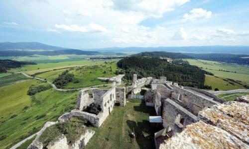 Zdjęcie SłOWACJA / Spisz / Zamek Spiski  / Na straży