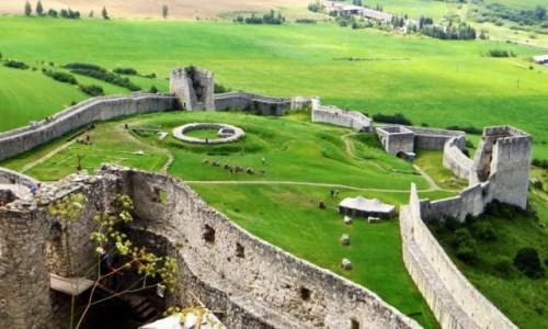 Zdjęcie SłOWACJA / Spisz / okolice Spiskiego Podgrodzia / Zamek Spiski