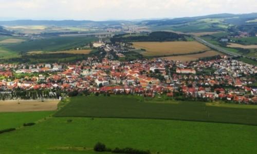 Zdjecie SłOWACJA / Spisz / okolice Spiskiego Podgrodzia / widok z murów zamku