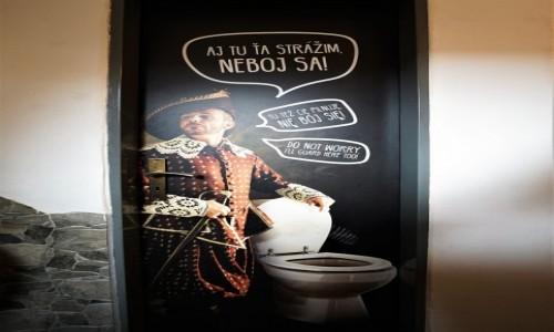 Zdjecie SłOWACJA / Spisz / Zamek Stara Lubownia / Na drzwiach