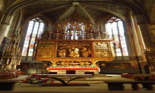 Zdjecie SłOWACJA / Spisz / Lewocza / kościół św. Jakuba ołtarz główny