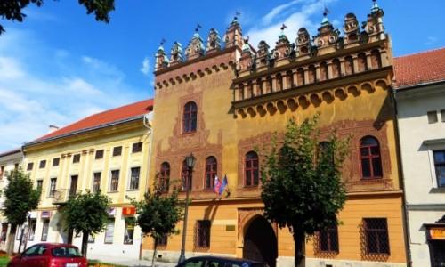 Zdjecie SłOWACJA / Spisz / Lewocza / dom Mistrza Pawła z Lewoczy