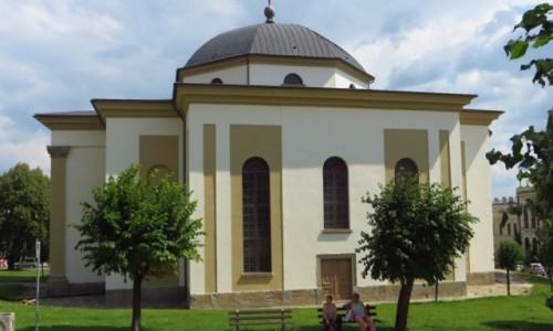 Zdjecie SłOWACJA / Spisz / Lewocza / kosciół protestancki