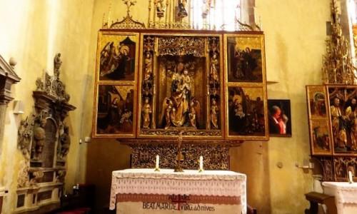 Zdjecie SłOWACJA / Spisz / Lewocza / kościół św. Jakuba ołtarz