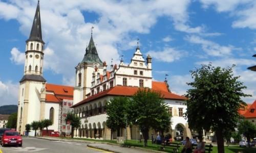 Zdjęcie SłOWACJA / Spisz / Lewocza / rynek