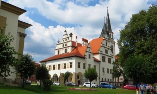 Zdjecie SłOWACJA / Spisz / Lewocza / rynek