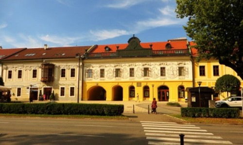 Zdjecie SłOWACJA / Spisz / Spiska Nowa Wieś / rynek Owalny