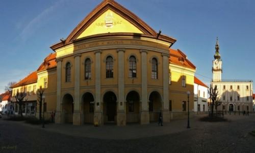 Zdjecie SłOWACJA / Spisz. / Kieżmark. / Listopadowe popołudnie w Kieżmarku - 2. Panorama