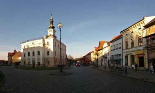 Zdjecie SłOWACJA / kraj preszowski. / Kieżmark. / Listopadowe popołudnie w Kieżmarku - 4.