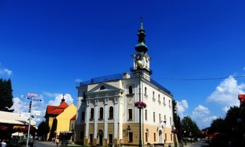 Zdjęcie SłOWACJA / Spisz / Kieżmark / ratusz