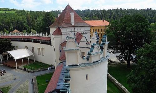 Zdjecie SłOWACJA / Spisz / Kieżmark / mury zamku