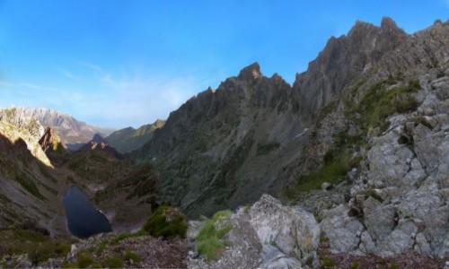 Zdjecie SłOWACJA / Mała Wysoka. / Polski Grzebień. / Panorama z Polskiego Grzebienia 2200 m.w kierunku północnym.