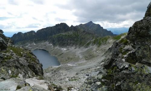 Zdjecie SłOWACJA / Wysokie Tatry. / Bystra Ławka 2300 m.. / Panorama z Bystrej Ławki.