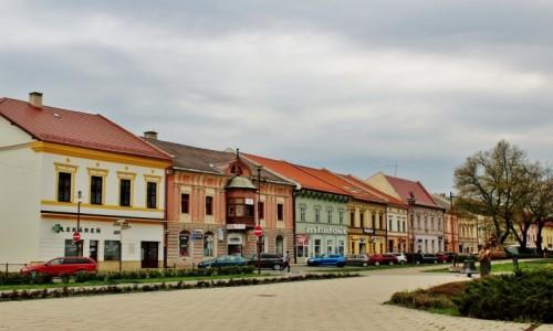 SłOWACJA / Kraj koszycki / Nowa Wieś Spiska / Kamieniczki